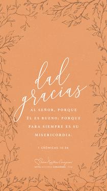 1 Crónicas 16:34 desktop wallpaper