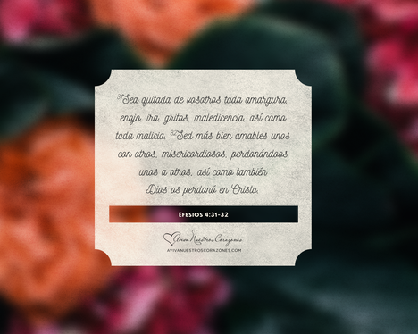 Abril: Efesios 4:31-32 desktop wallpaper