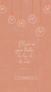 Juan 8:12 desktop wallpaper