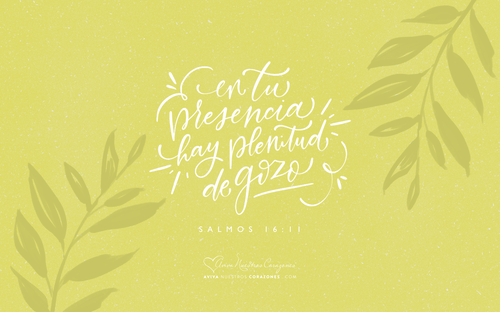 Salmos 16:11 desktop wallpaper